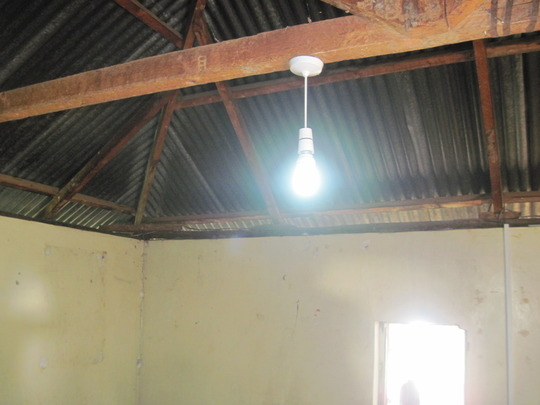 Solar lighting in new school building