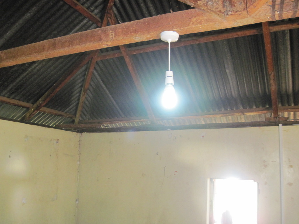Solar lighting in new school building