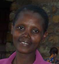 Mrs. Eunice David, Volunteer Teacher