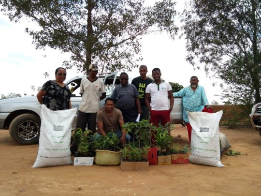 Photo of The Garden Project Team in Madagascar