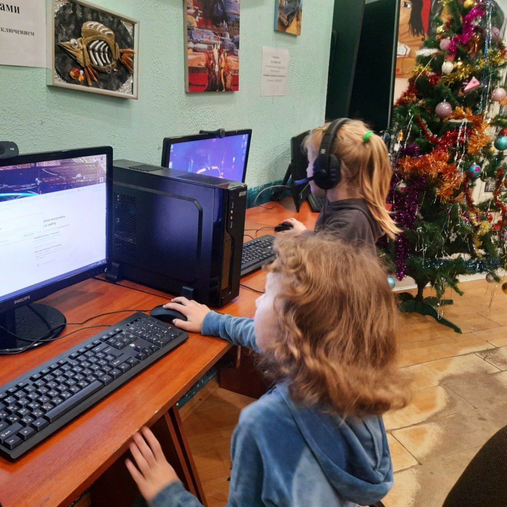 Computers for Children`s Crisis Shelter in Ukraine