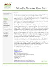 Information & Thank You Letter (PDF)