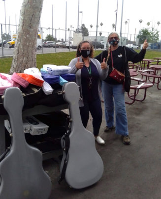 Guitars donated to John Hope Continuation HS