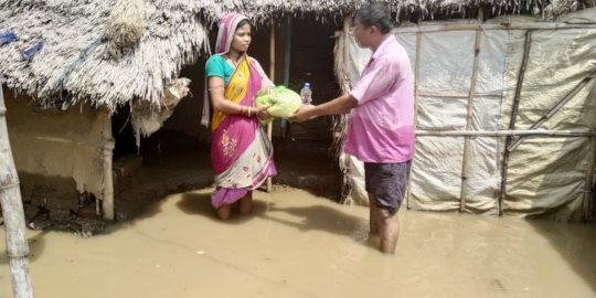 Help flood devastation recovery in Odisha, India