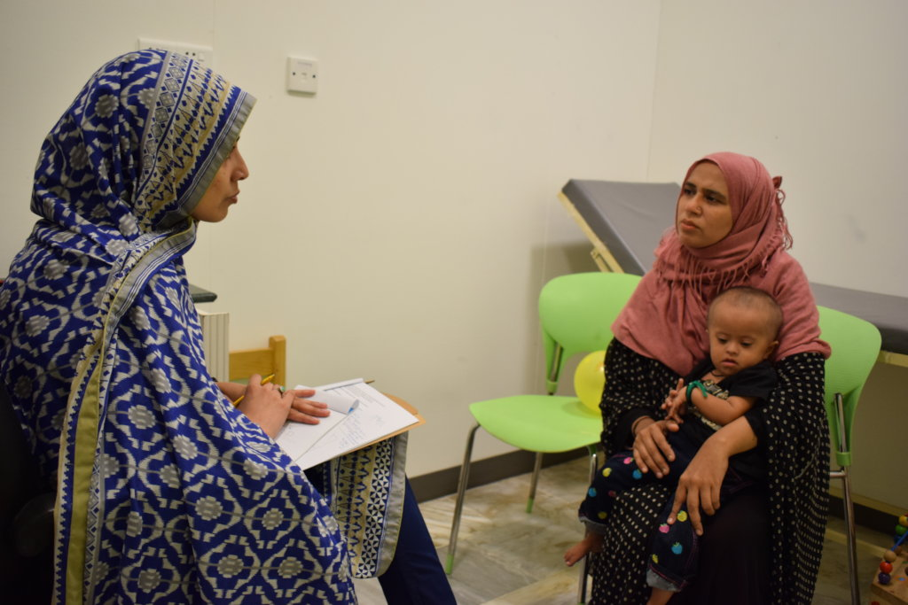 Healthcare consult with developmental pediatrician