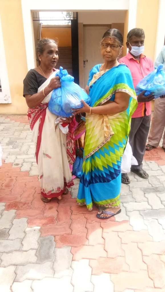 Gift a Diwali kit to Visually challenged Families
