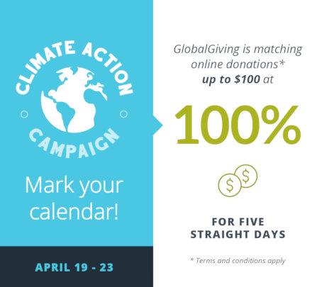 Climate Action Campaign 2021 - Mark your calendar!