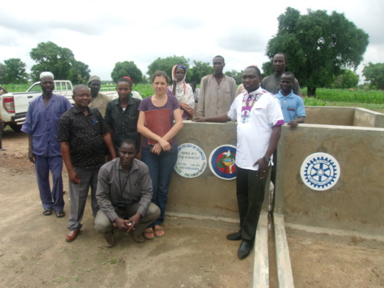 Water Project of BARKA and Rotary Partners in 2015