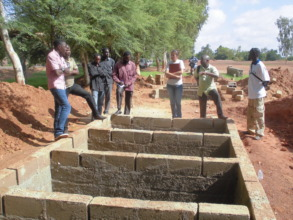 Local Government visits site to oversee the work