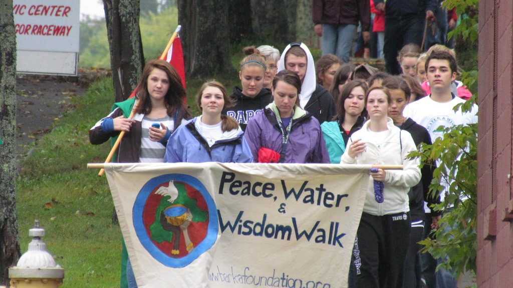 Maine Youth Walking for Water for Burkina