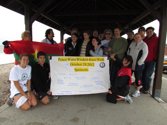 Organizers from Marblehead HS Interact Club