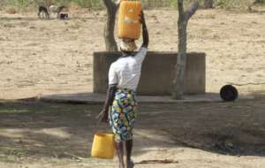 In Burkina Faso the Load of Water Falls on Women