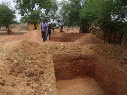 Construction of New Latrines