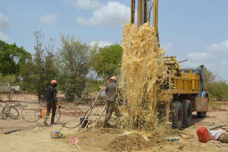 The Drilling of a New Well