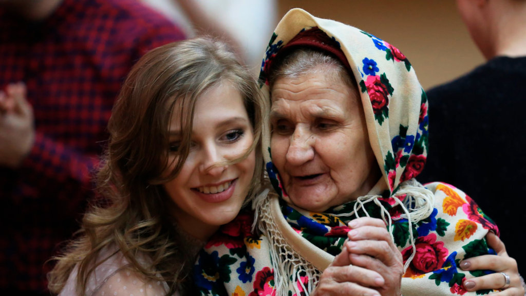 Improving living conditions for Russian elderlies