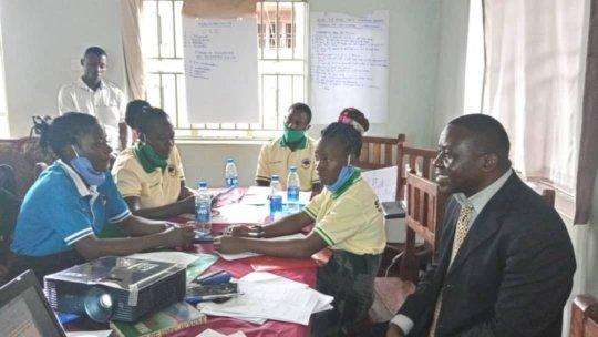 Volunteer Training in Uganda