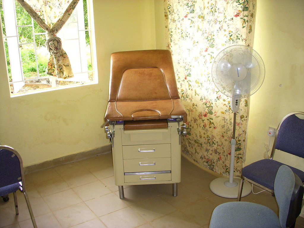GGM clinic exam room