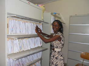 New filing system at the GGM clinic