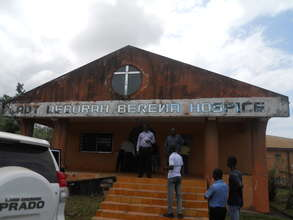 Hospital before renovations began