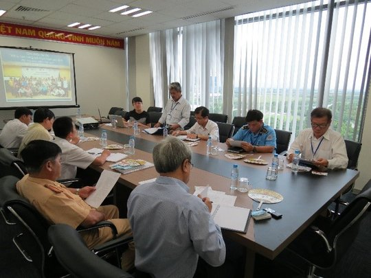 Meeting with road safety stakeholders