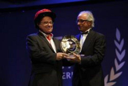 Greig Craft receives FIM Road Safety Award