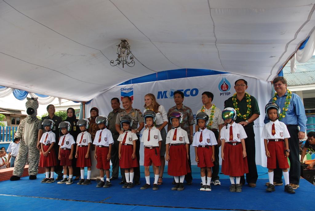 The Helmet Handover Ceremony