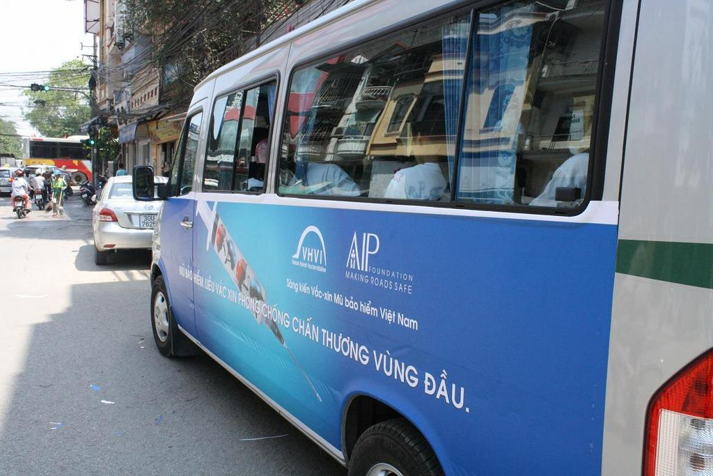 Mobile Education Unit that traveled to schools