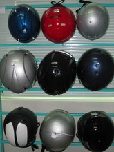 Protec helmets looked to be holding up much better
