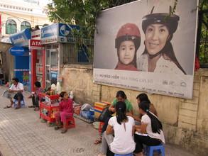 Billboard in Ho Chi Minh City