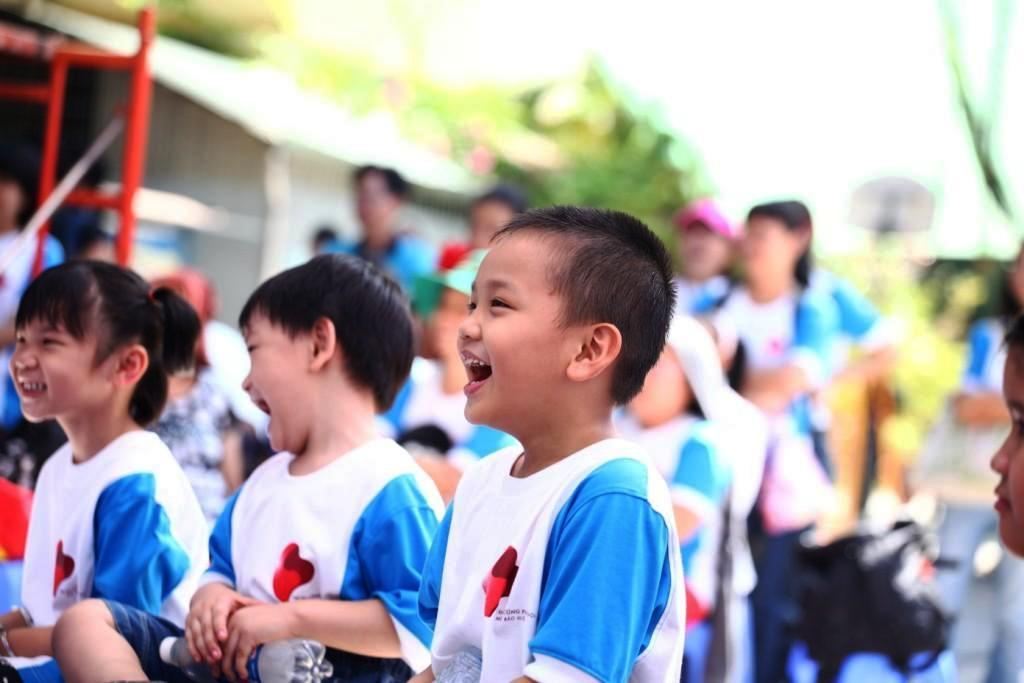 A child enjoys the Family Day activities