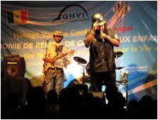 Concert to raise road safety awareness in Senegal