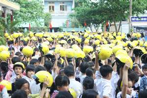 Kick-off ceremony in Quang Nam Province