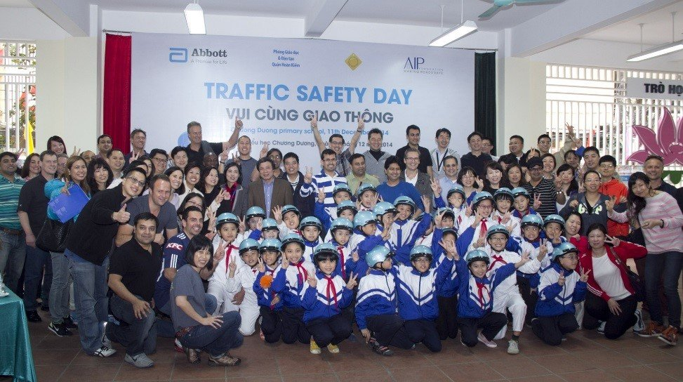 Students are excited about Traffic Safety Day!
