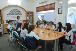 Focus group discussion with students held in HCMC.