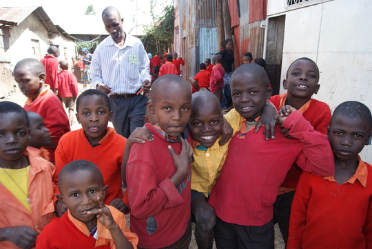 Students at Rehema Primary School