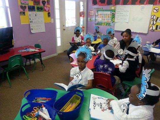 Our kids love two things: Reading and Silly Hats!