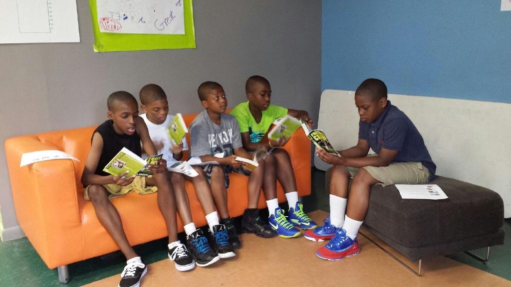 Boys Reading Club