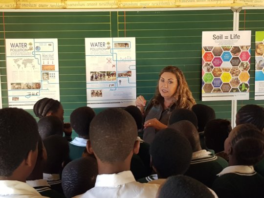 Engaging with learners about the environment