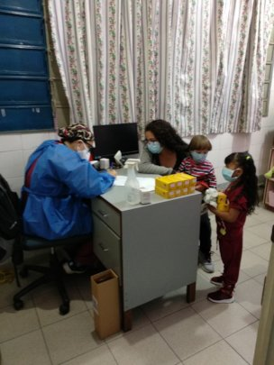Pediatric consultation and supplement delivered