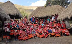 The Patacancha weaving association