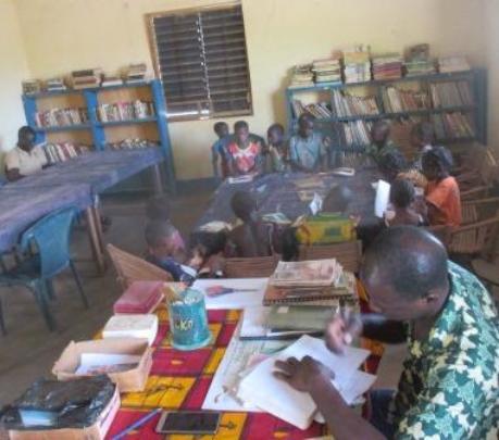Library of Bereba reopened