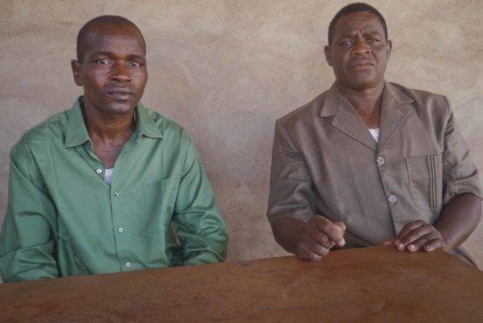 Meeting with mayor of Bereba in Nov 2020