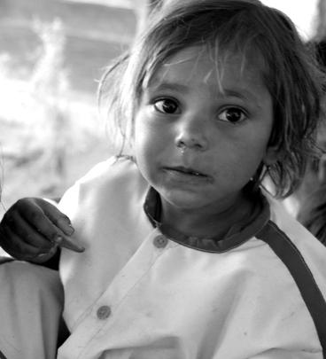 Child in Village