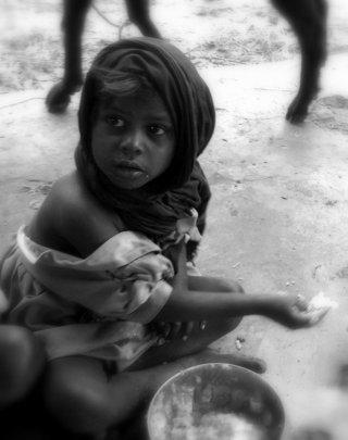 We work in very poor communities