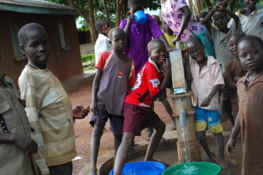 Construct a well in Gulu, Uganda