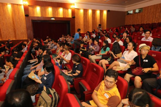"Participants at ""From Compassion to Action"""