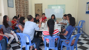 Action & Learning session with HSBC Vietnam