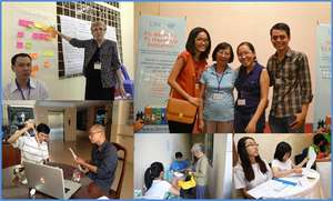 Nearly 300 people volunteered with LIN in 2013.
