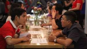 Volunteers and NPOs speed dating at Mandala Night