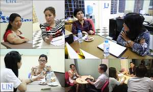 Experts provided consultation to NPO staff.